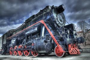Train Steam Locomotive