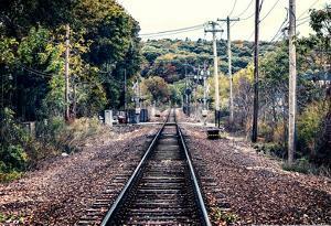 Train Tracks Oyster Bay New York