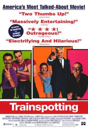 "1 2 Art Print Classic Movie 24/""x36/"" Poster 003 Trainspotting"