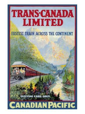 Trans-Canada Limited, Fastest Train Across the Continent