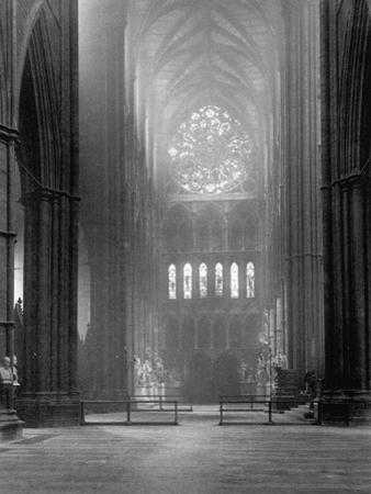 Transept of Westminster Abbey