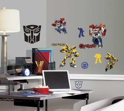 Transformers - Autobots Peel and Stick Wall Decal