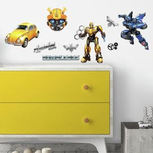 Transformers Bumblebee Peel And Stick Wall Decals