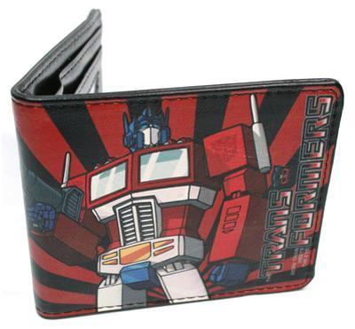 Transformers - Optimus Prime Leather Wallet