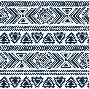Abstract Tribal Pattern by transiastock