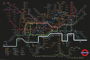 Transport For London - Black Map