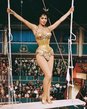 Trapeze, Gina Lollobrigida, 1956