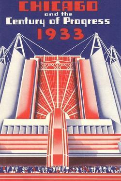 Travel Poster, Chicago World's Fair