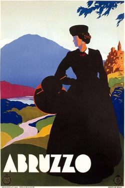 Travel Poster for Abruzzo