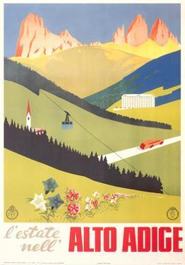 Travel Poster for Alto Adige