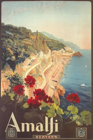 Travel Poster for Amalfi