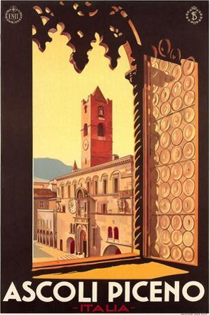 Travel Poster for Ascoli Piceno