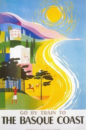 Travel Poster for Basque Coast