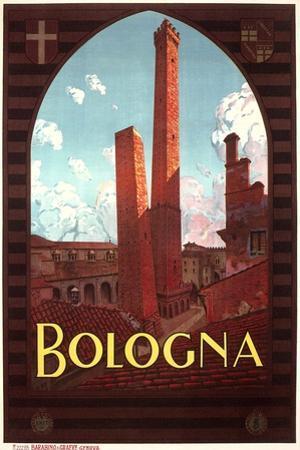 Travel Poster for Bologna
