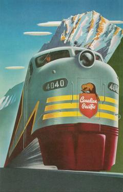 Travel Poster for Canadian Railways