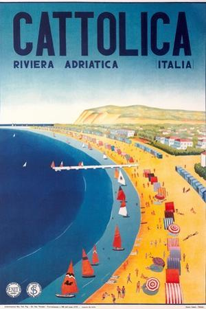 Travel Poster for Cattolica