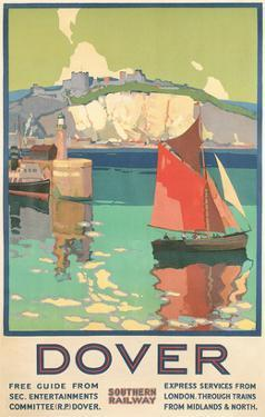 Travel Poster for Dover, Kent