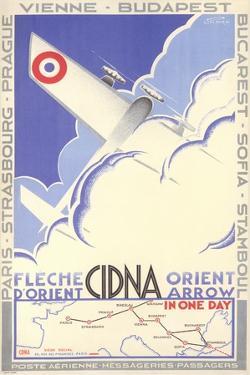Travel Poster for Flying