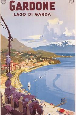 Travel Poster for Garda Lake