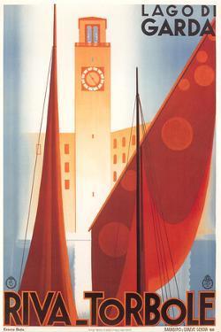 Travel Poster for Garda Lake