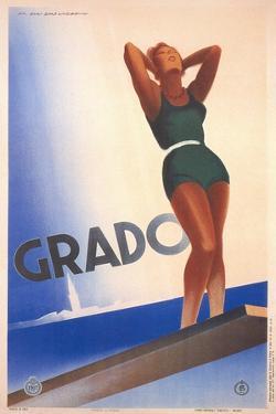 Travel Poster for Grado