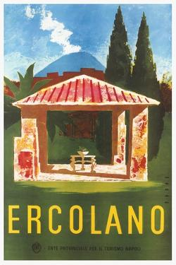 Travel Poster for Herculaneum