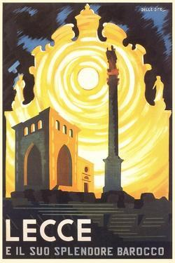 Travel Poster for Lecce