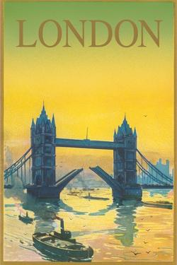 Travel Poster for London