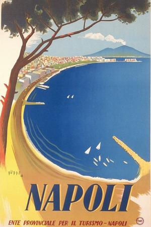 Travel Poster for Naples