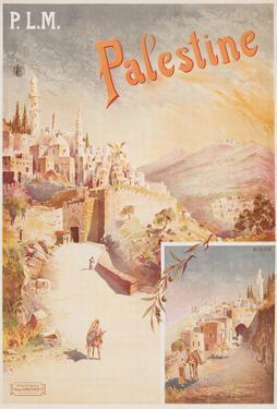 Travel Poster for Palestine