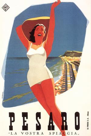 Travel Poster for Pesaro