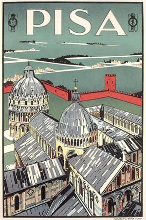 Travel Poster for Pisa