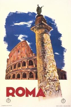 Travel Poster for Rome