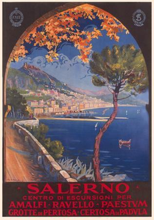 Travel Poster for Salerno