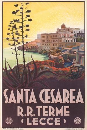 Travel Poster for Santa Cesarea