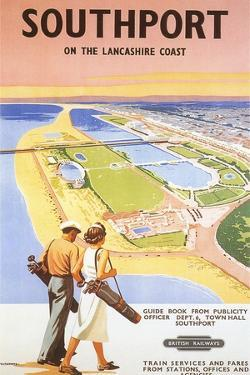 Travel Poster for Southport