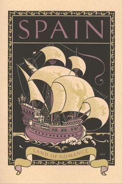Travel Poster for Spain