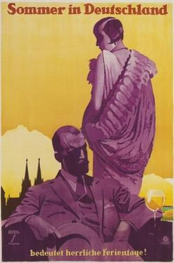 Travel Poster for Summer in Germany