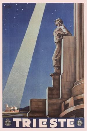 Travel Poster for Trieste