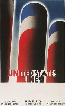 Travel Poster for United States Lines