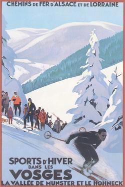 Travel Poster for Vosges