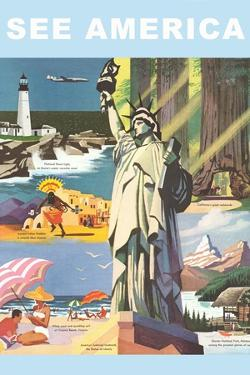 Travel Poster, See America