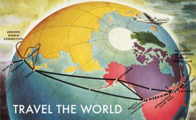 Travel the World, Routes to Asia