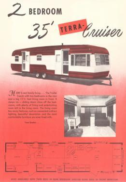 Travel Trailer Advertisement, Terra Cruiser