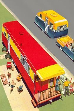 Travel Trailer and Caravan