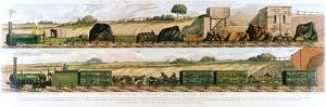 Travelling on the Liverpool and Manchester Railway, 1831