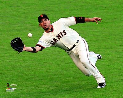 Travis Ishikawa Game 3 of the 2014 World Series Action