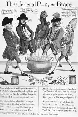 Treaty of Paris Cartoon