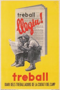 Treball, Advertisement for Catalan Labor Newspaper