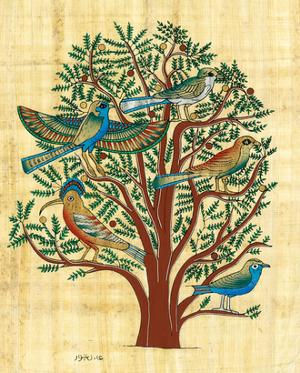 Tree with Sacred Birds